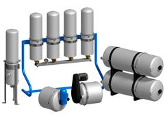 INDUSTRIAL AND DOMESTIC FILTRATION