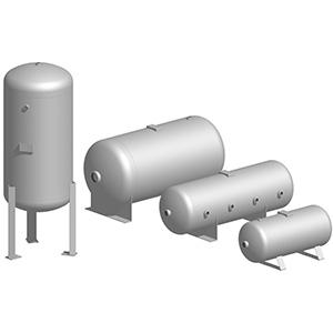 Tanks für Industriemaschinen - Pneumatiktanks serie MAXI-CE