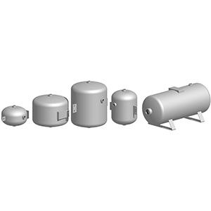 Mini – CE series pneumatic tanks