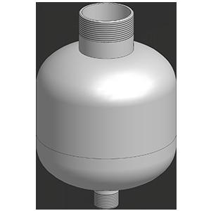Additiv-behälter aus edelstahl
