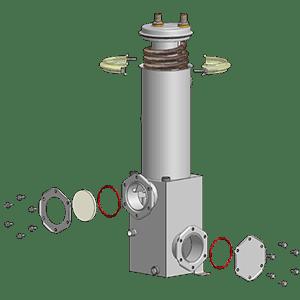 Solvent condensers / separators